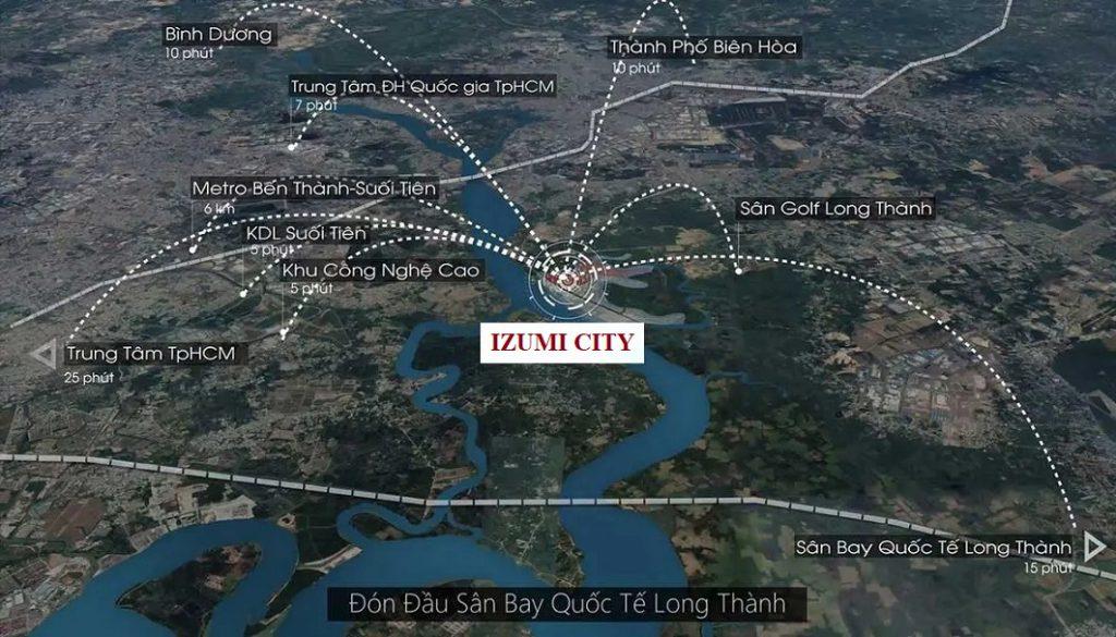 Mặt bằng - bảng giá - thanh toán - chiết khấu - mở bán - vị trí - Izumi City là khu đô thị sinh thái của Nam Long sau khu đô thị Waterpoint
